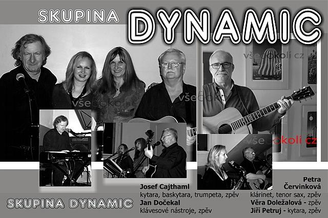 Dynamic, kapela která nám hrála v 80 letech na zábavách v Praze 5 i v Praze - západ
