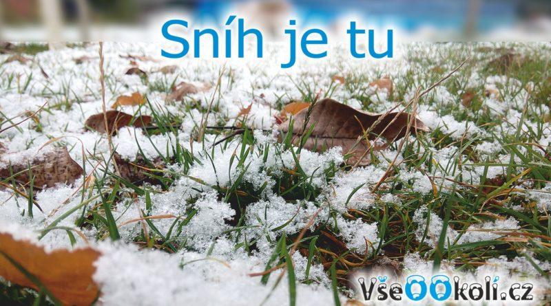 V Praze 5 je sníh