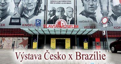 V museum Slavie se konala výstava fotbalu.