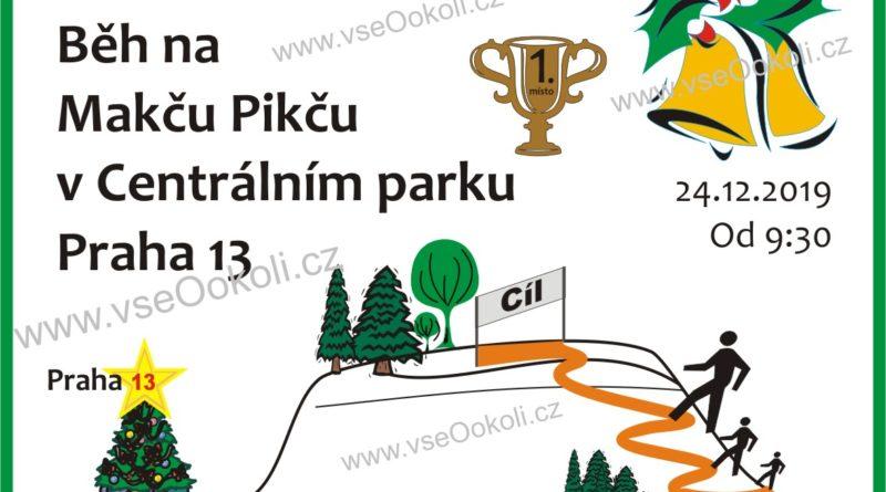 Na Praze 13 v dne 24. prosince 2019 se uskuteční slavnostní běh na Makču Pikču.