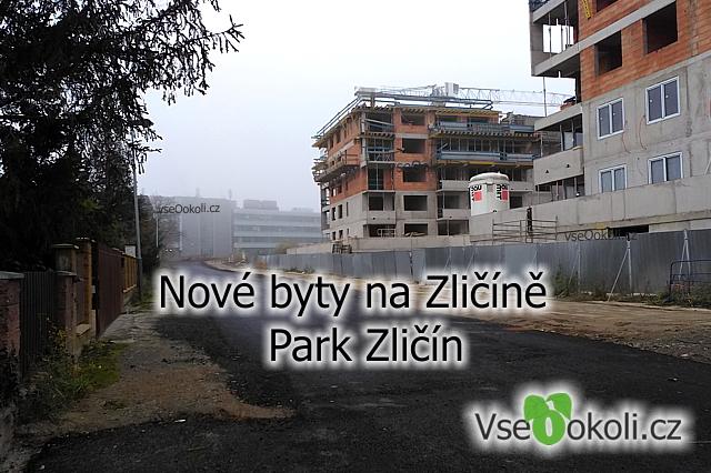 Zličín Praha 5, nový bytový komplex i s parkem a obchody vznikne u metropole Zličín.