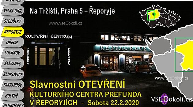 Vedle centra se nachází Pivovar Řeporyje v ulici Na Tržišti.