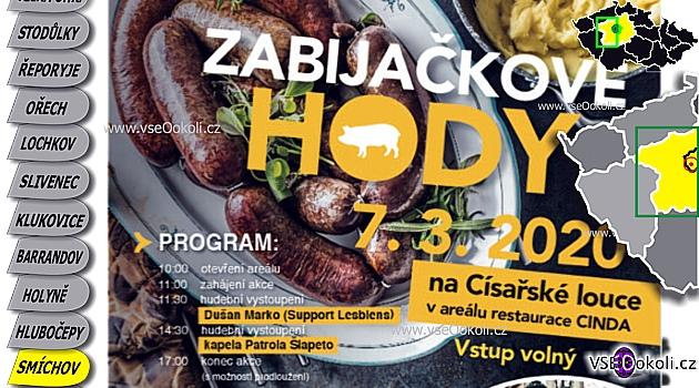 Zabijačkové hody, Praha 5 Císařská louka u Vltavy