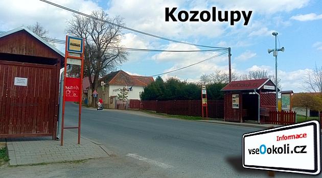 Kousek od obce Kozolupy se nachází Špírkův rybník, Kozolupy - Praha - záapd