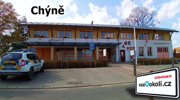 Úřad se nachází při ulici Hlavní, které dále vede do Litovic a Hostivic.