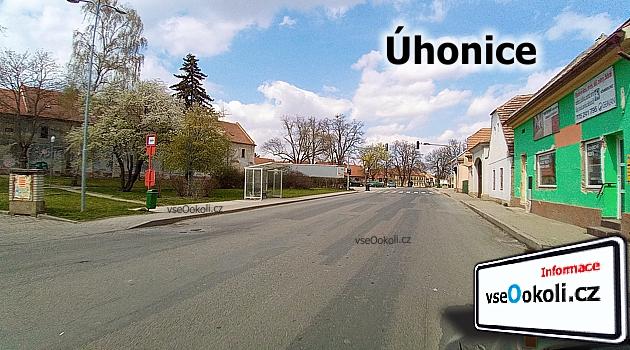 Zastávka v obci chýně v ulic Kateřinská.