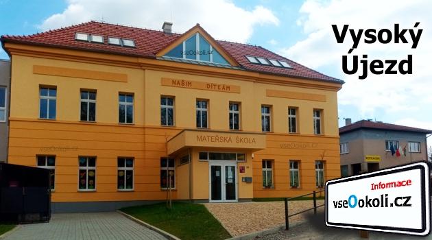 Školu navštěvují děti z Vysokého Újezdu a z okolních vesnic: Bubovice, Kozolupy, Lužce, Mezouň.