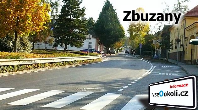 Ulice Na Návsi, zde najdete obecní úřad Zbuzany, středočeský kraj, okres Praha - západ.