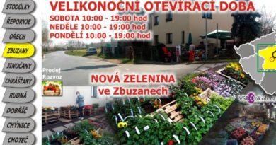 Zbuzany Praha - západ, ovoce, zelenina a květiny