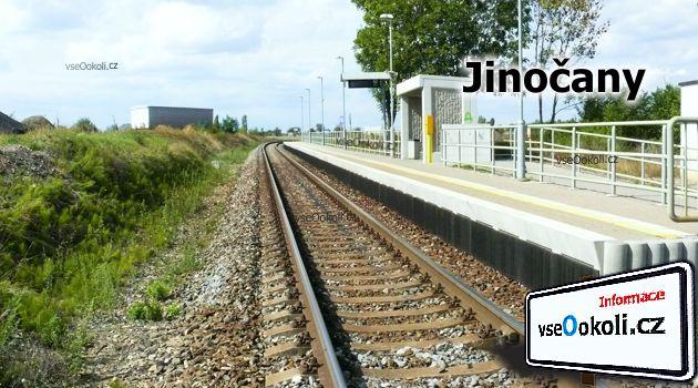 Vlak jezdí ze Smíchovského nádraží do Berouna přes Jinočany.