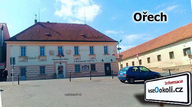 Ořech je obcí na Praze - západ.