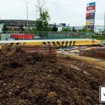 Praha 13 Nové Butovice rekonstrukce vozovky a podchodu