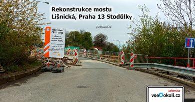 Pod mostem se nachází ulice Jeremiášova vedoucí od Nových Butovic až do Řep