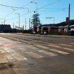 autobusy hned vedle brownfieldu Smíchov, zde budou luxusní byty a kanceláře.