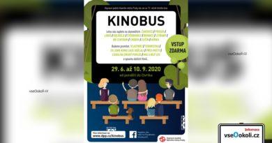 Kinobus 2020 neboli pojízdné kino.