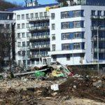 Akt Hotel na Smíchově se bude nacházet přes ulici nově vznikající čtvrti Smíchov City.