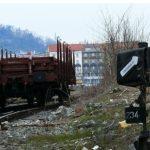 Nákladní vlak a kolejová dráha ze SMíchova na Anděl byla zničena. Místo toho vyroste obří bytový a kancelářský komplex Smíchov City.