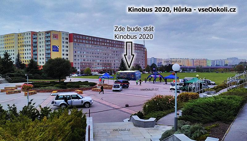 Letní kino na Hůrce na Praze 13, Praze - západ nebo na Praze 5.