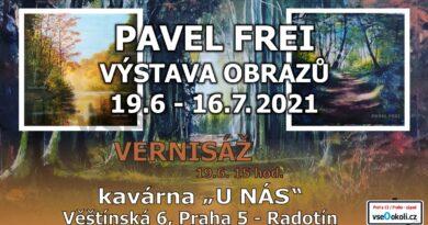 Frei Pavel - Výstava obrazů v Radotíně