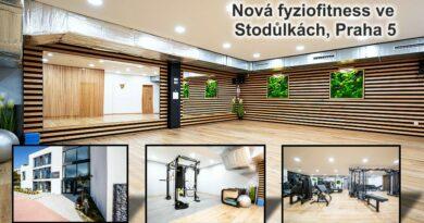 Nová fyziofitness ve Stodůlkách, Praha 5